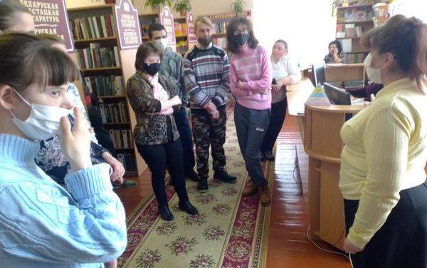 Познавательная экскурсия вГУК «Ошмянская районная библиотека» для людей с ограниченными возможностями
