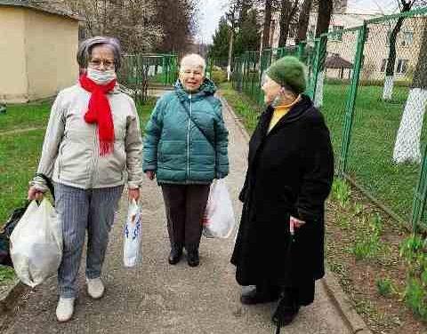 Волонтерская акция в Октябрьском районе г.Гродно