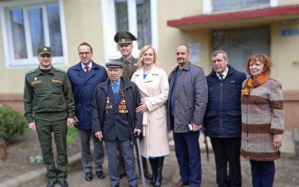 Чествование  ветеранов Великой Отечественной войны в Лидском районе.