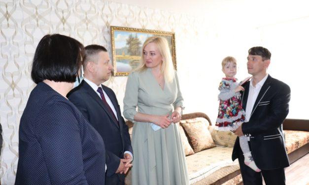 Заместитель Министра труда и социальной защиты Республики Беларусь Лавринович И.А. посетил учреждения социального обслуживания Лидского района