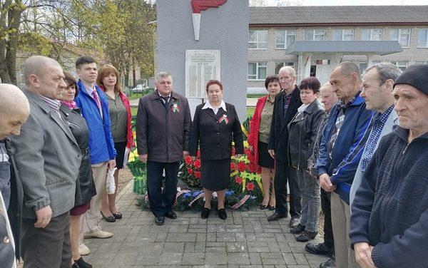 День памяти в аг.Брольники Новогрудского района
