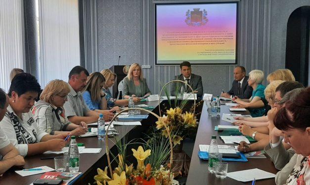 В Новогрудском районе проходит выездное заседание экспертной рабочей группы по вопросам реализации гендерной политики