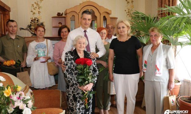 95-летний юбилей отметила ветеран Великой Отечественной войны