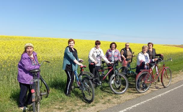 Велопробег «Здоровый образ жизни – наш формат!»