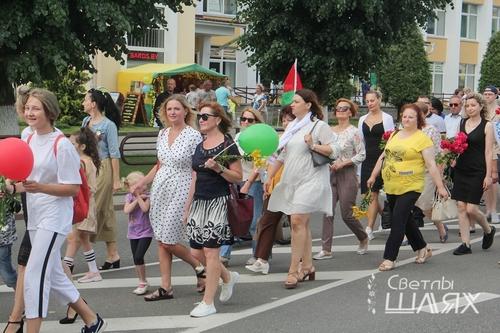 Праздничные мероприятия в День Независимости в г. Сморгонь