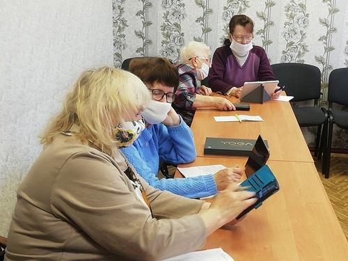 Повышение цифровой грамотности среди людей старшего возраста